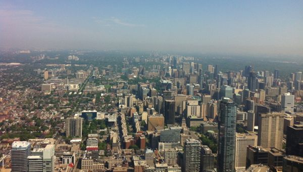 Vista da CN Tower