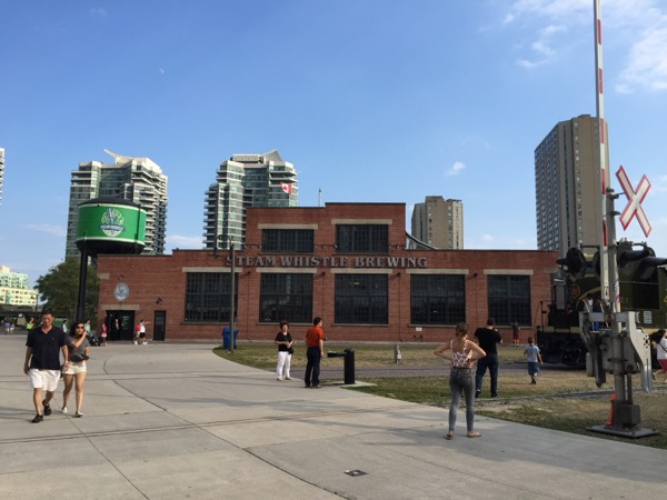 Steam Whistle em Toronto