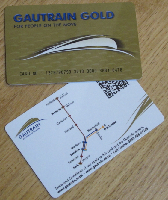 Gautrain Gold Card