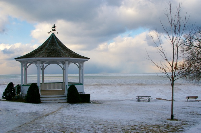 Niagara on the Lake no inverno