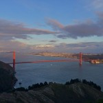 Vista da Golden Gate