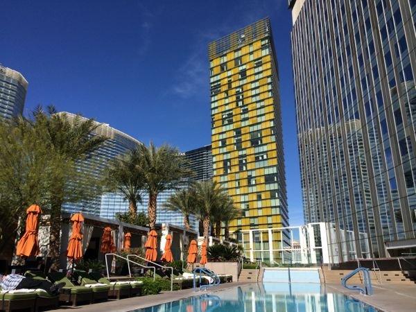 Piscina do Mandarin Oriental em Las Vegas