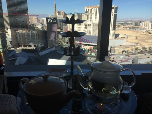 High tea no Mandarin Oriental em Las Vegas
