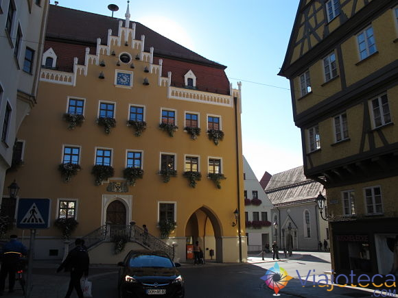 Donauwörth Rathaus lateral