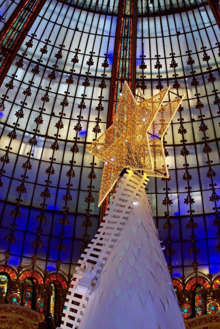 Árvore de Natal da Galeries Lafayette
