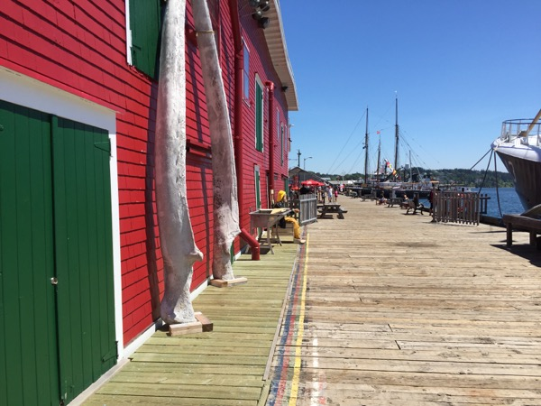 Waterfront Lunenburg, Nova Scotia