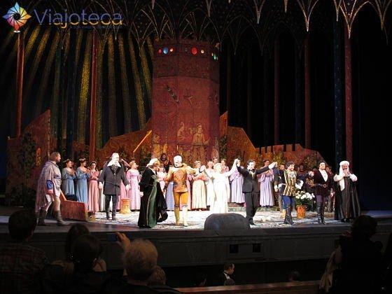 Opera Iolanta, Moscou