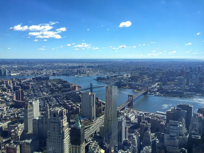 One World Observatory de Nova York - vista