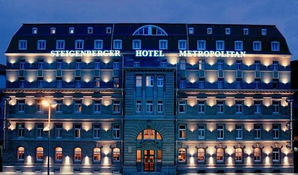 Hotéis 5 estrelas em Frankfurt Steigenberger Hotel Metropolitan