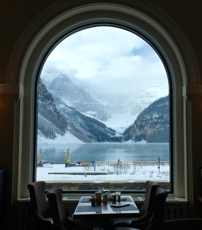 Lake Louise no inverno
