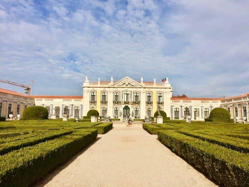 Palacio Queluz, Sintra