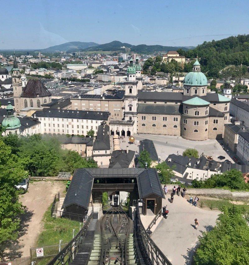 Fortaleza de Hohensalzburg - Salzburg, Austria