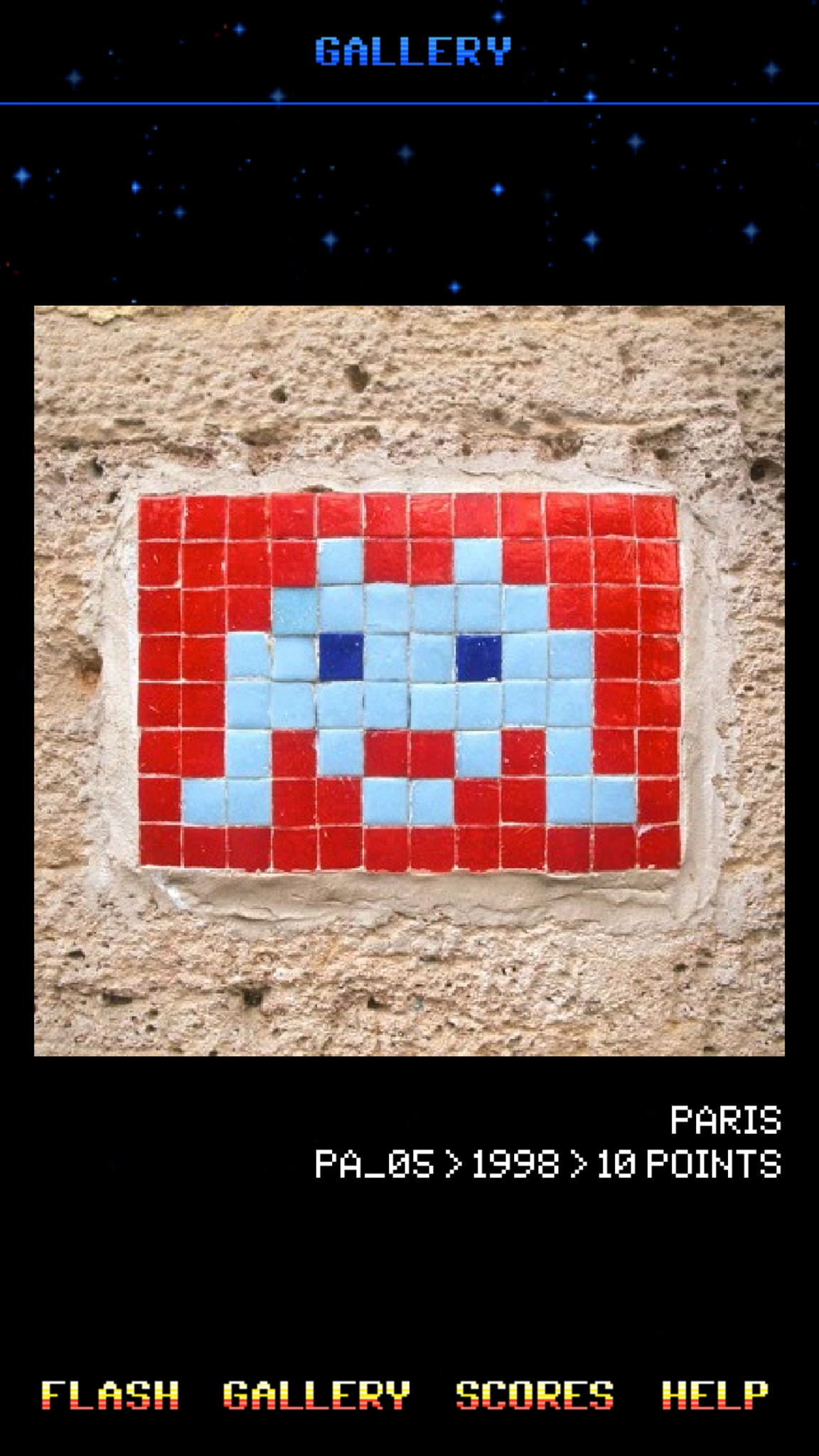 Space Invaders Paris
