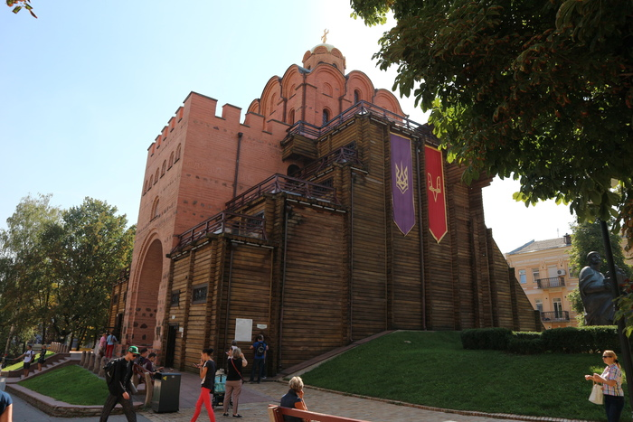 Golden Gate de Kiev exterior