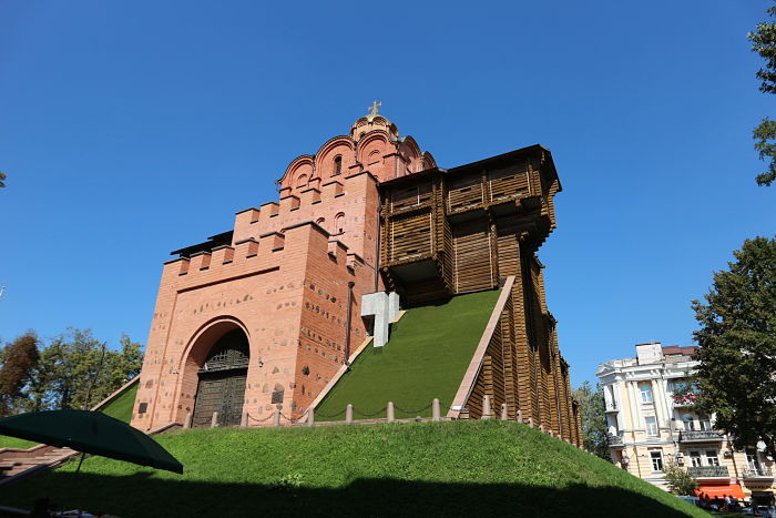 Golden Gate de Kiev exterior5