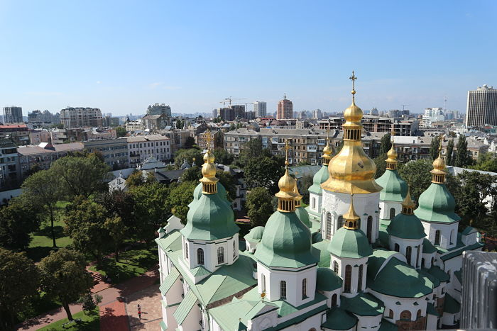 Catedral de Santa Sophia vista1