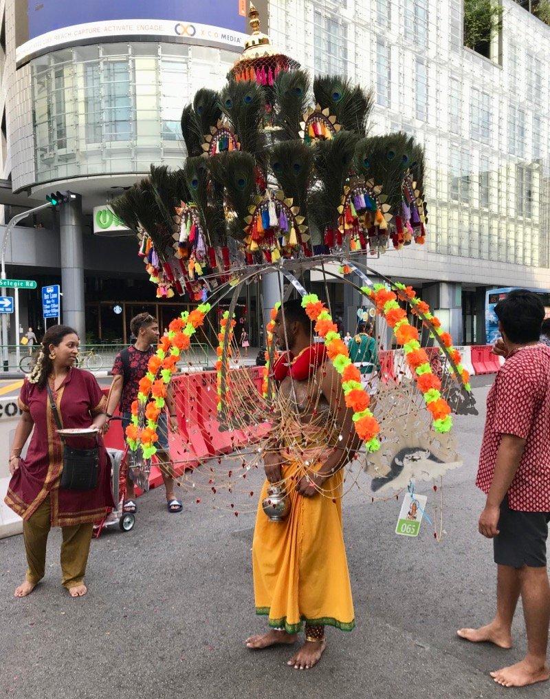 Festival Hindu Thaipusam em Singapura