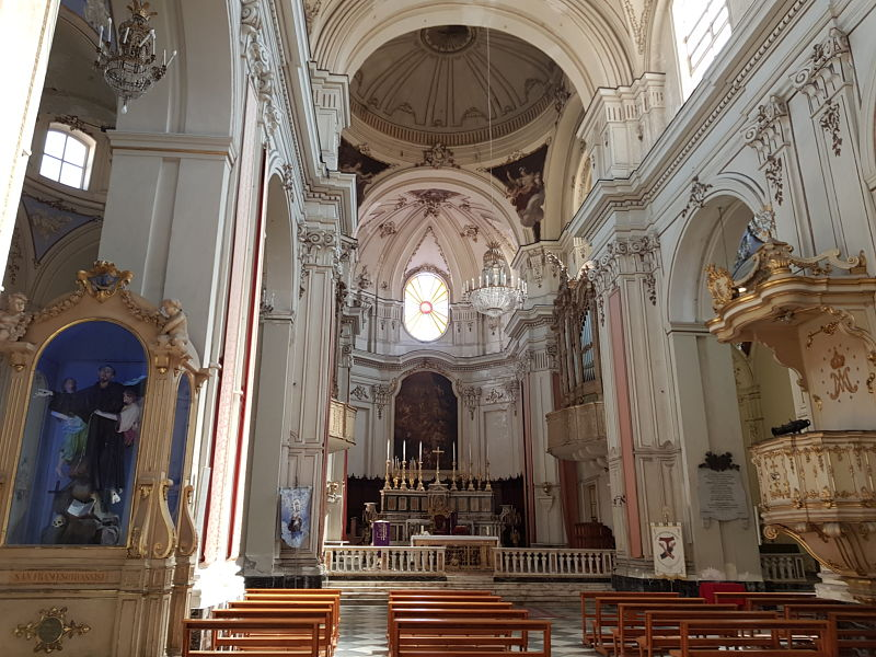 Atrações de Catânia Via Crociferi Chiesa di San Francesco d'Assisi all'Immacolata1