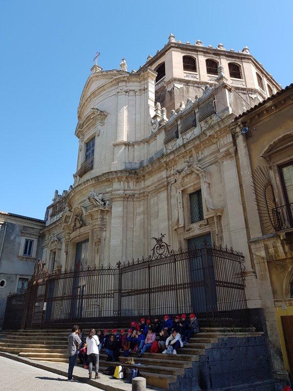 Via Crociferi Chiesa di San Giuliano
