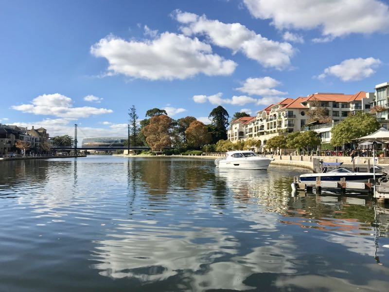 Perth, Australia - Claisebrook Cove