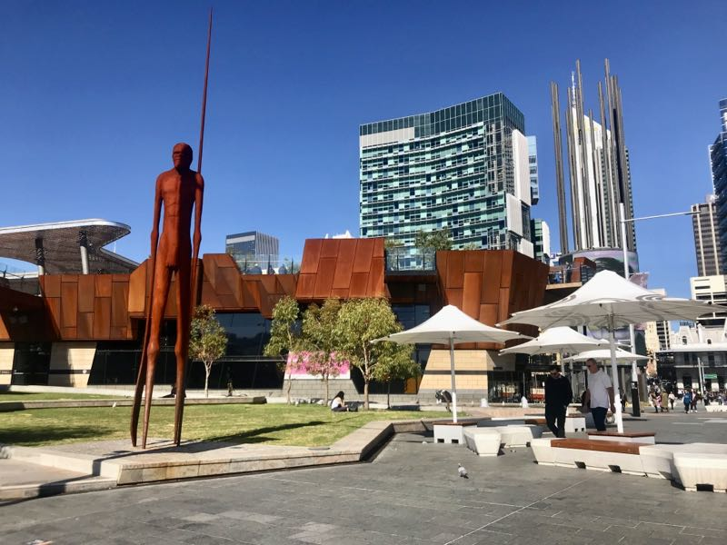 Perth na Australia - Yagan Square