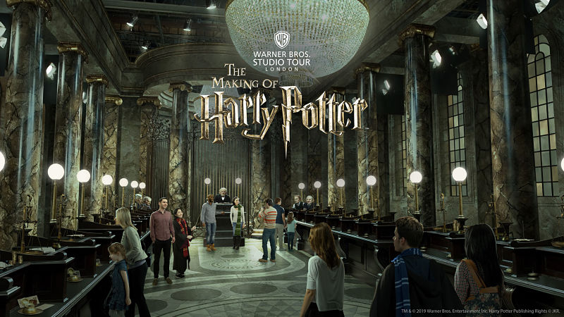 Parques tematicos Europa The Making of Harry Potter