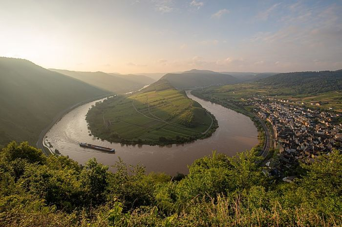 Bremm Rio Mosel na Alemanha