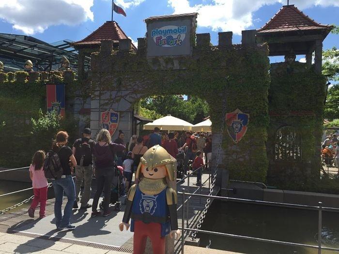 Playmobil Fun Park Alemanha entrada