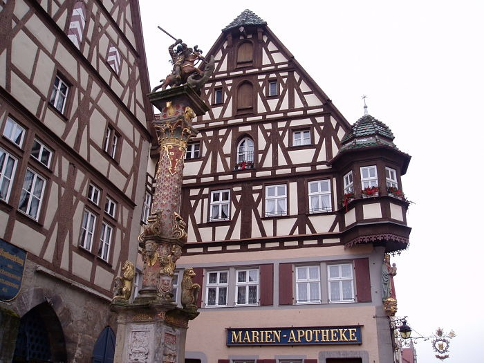 Rothenburg St. George Fountain